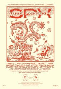 SPX 2016 Poster Jim Woodring