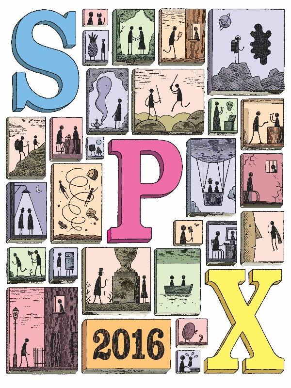 SPX 2016 Tom Gauld Program Cover