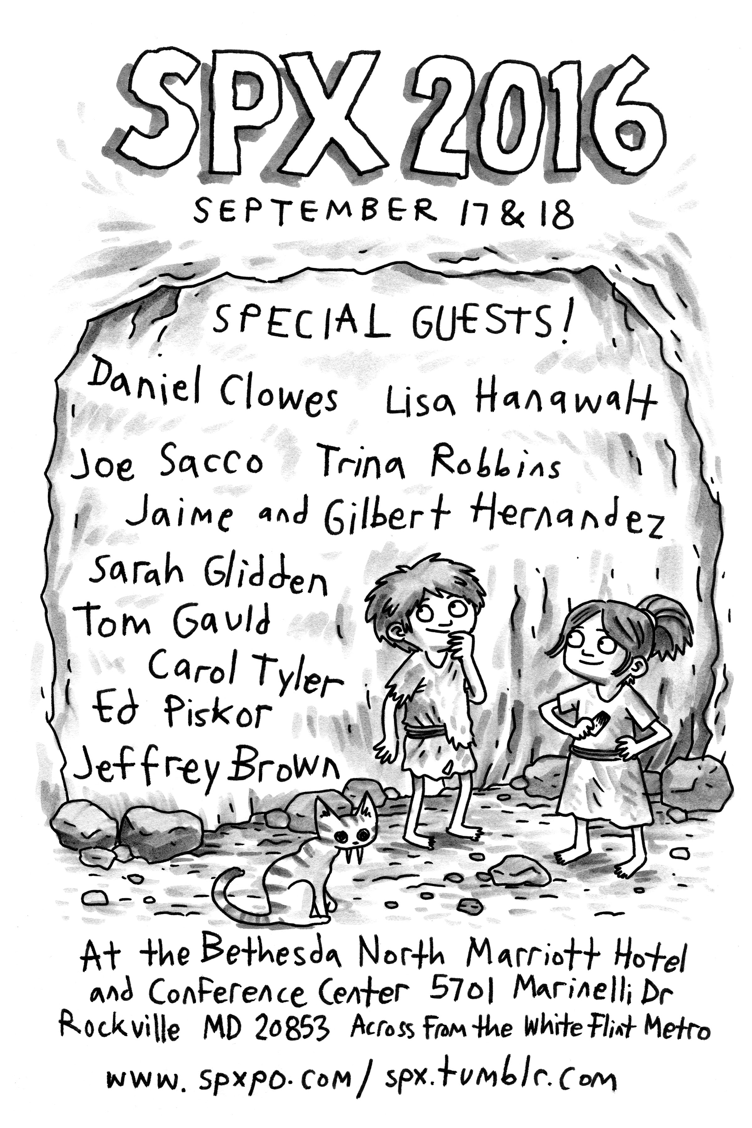 SPX 2016 Flyer Jeffrey Brown